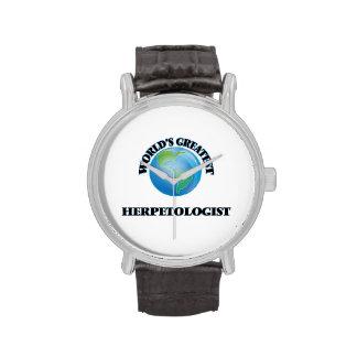 World's Greatest Herpetologist Wrist Watches