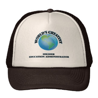 World's Greatest Higher Education Administrator Mesh Hat