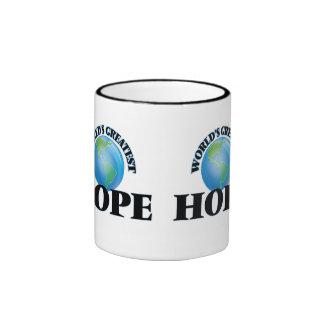 World's Greatest Hope Ringer Mug