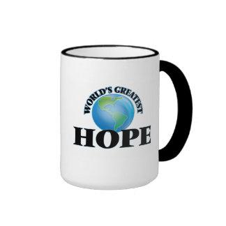 World's Greatest Hope Coffee Mugs