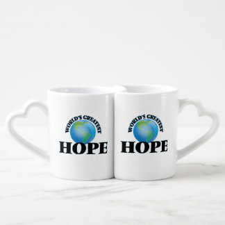 World's Greatest Hope Lovers Mug Sets