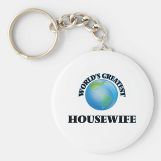 World's Greatest Housewife Key Chains
