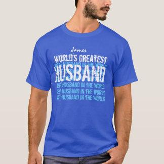 World's Greatest Husband Ever T-Shirt