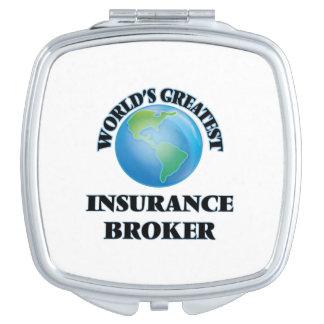 World's Greatest Insurance Broker Compact Mirrors