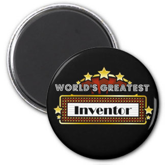 World's Greatest Inventor Magnets