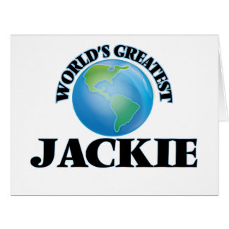 World's Greatest Jackie Cards
