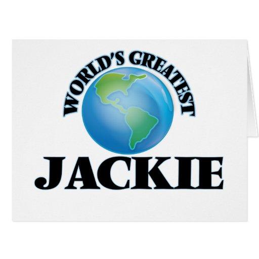 World's Greatest Jackie Cards
