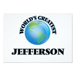 World's Greatest Jefferson Personalized Invite