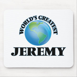 World's Greatest Jeremy Mouse Pad