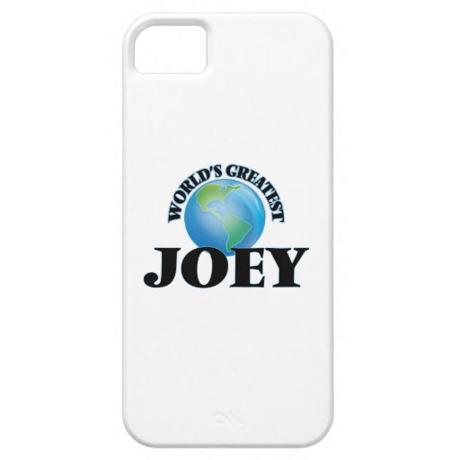 World's Greatest Joey iPhone 5/5S Cases