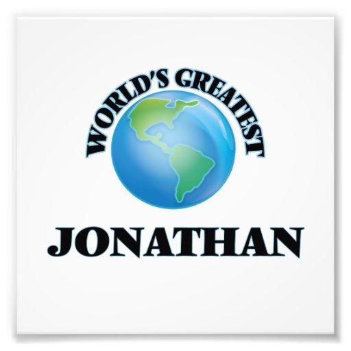 World's Greatest Jonathan Photographic Print
