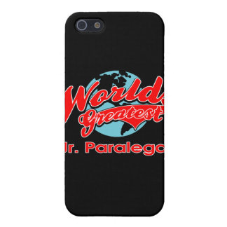 World's Greatest Jr. Paralegal Cover For iPhone 5