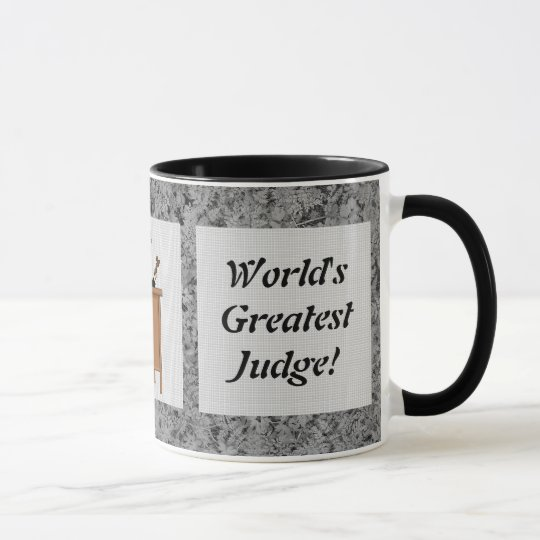 World's Greatest Judge mug