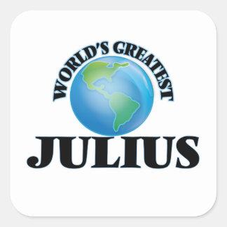 World's Greatest Julius Stickers