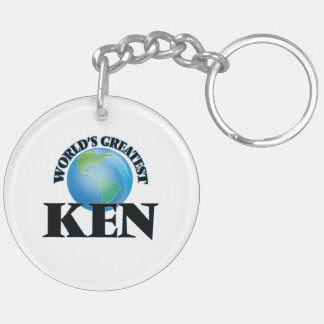 World's Greatest Ken Acrylic Keychain