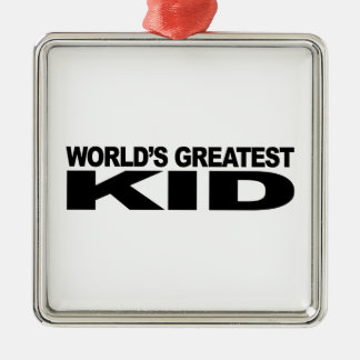 World's Greatest Kid Christmas Ornament
