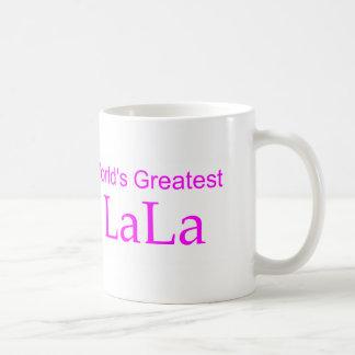 World's Greatest LaLa Basic White Mug