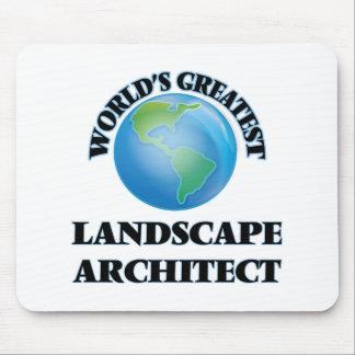 World's Greatest Landscape Architect Mousepad