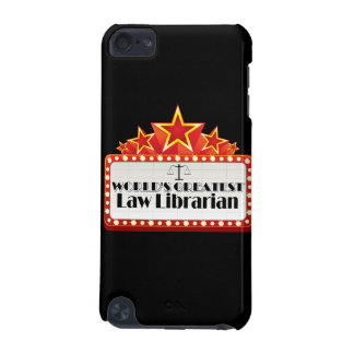 World's Greatest Law Librarian iPod Touch 5G Case