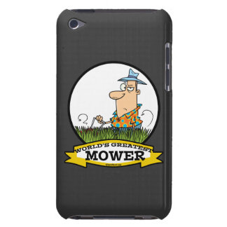 WORLDS GREATEST LAWN MOWER MEN CARTOON iPod TOUCH COVERS