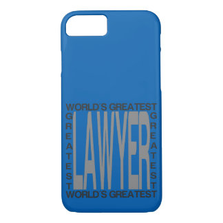 Worlds Greatest Lawyer iPhone 8/7 Case