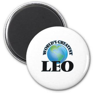 World's Greatest Leo Magnet