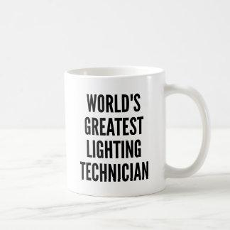 Worlds Greatest Lighting Technician Basic White Mug