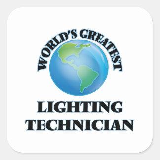 World's Greatest Lighting Technician Sticker