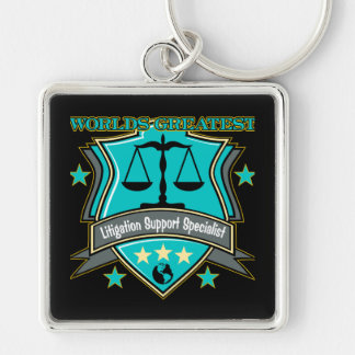 World's Greatest Litigation Support Specialist Key Chain