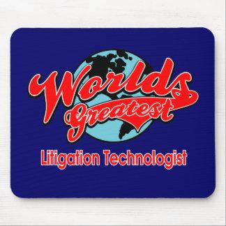 World's Greatest Litigation Technologist Mouse Pad
