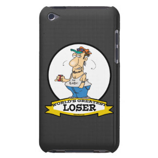 WORLDS GREATEST LOSER CARTOON iPod TOUCH CASES