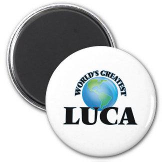 World's Greatest Luca Refrigerator Magnet
