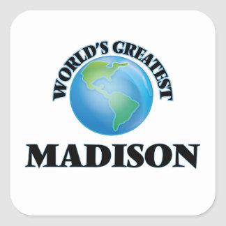 World's Greatest Madison Square Sticker