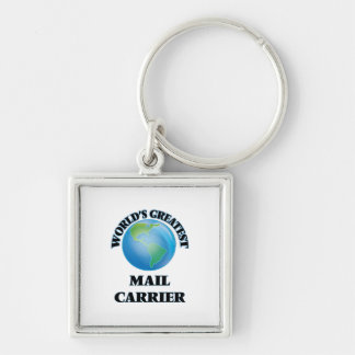 World's Greatest Mail Carrier Key Chain
