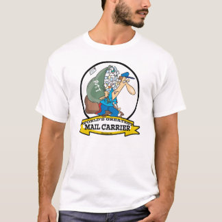WORLDS GREATEST MAIL CARRIER MEN CARTOON T-Shirt