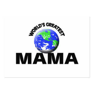World's Greatest Mama Business Card Templates