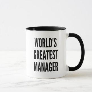 Worlds Greatest Manager Mug