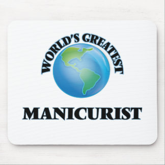 World's Greatest Manicurist Mouse Pads