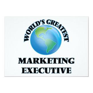 World's Greatest Marketing Executive Custom Invite