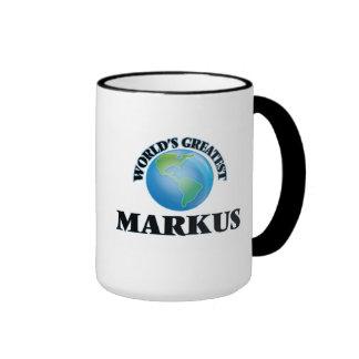 World's Greatest Markus Coffee Mug