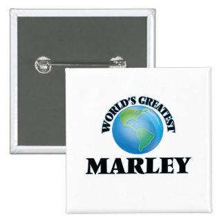 World's Greatest Marley 15 Cm Square Badge