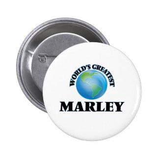 World's Greatest Marley Pinback Button