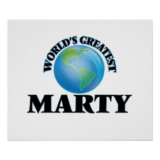 World's Greatest Marty Posters