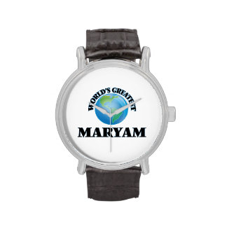 World's Greatest Maryam Wristwatch