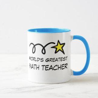 World's Greatest Math Teacher - Coffee Mug gift