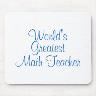 Worlds Greatest Math Teacher Mousepad