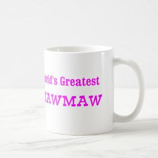 World's Greatest MawMaw Basic White Mug