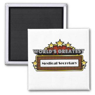 World's Greatest Medical Secretary Magnet