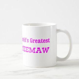 World's Greatest MeeMaw Basic White Mug