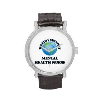 World's Greatest Mental Health Nurse Wristwatches